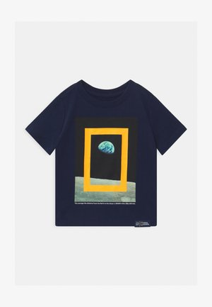 TODDLER BOY NATIONAL GEOGRAPHIC  - T-shirt print - tapestry navy