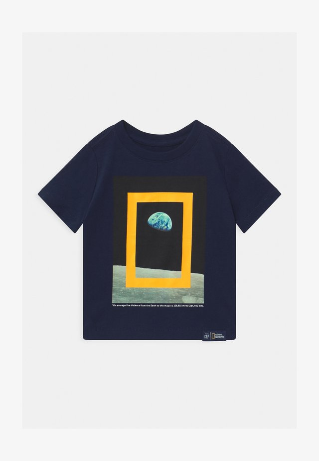 TODDLER BOY NATIONAL GEOGRAPHIC  - Print T-shirt - tapestry navy