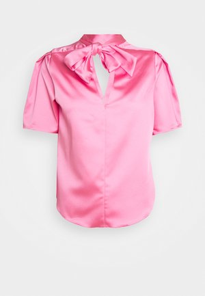 CLOSET PLEATED PUFF SLEEVE - Blouse - pink