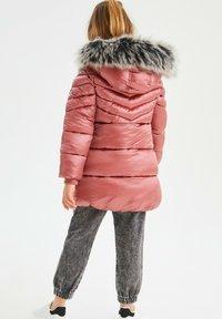 Next - Winter coat - pink - 3