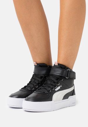 CALI SPORT TOP CONTACT  - High-top trainers - black/white