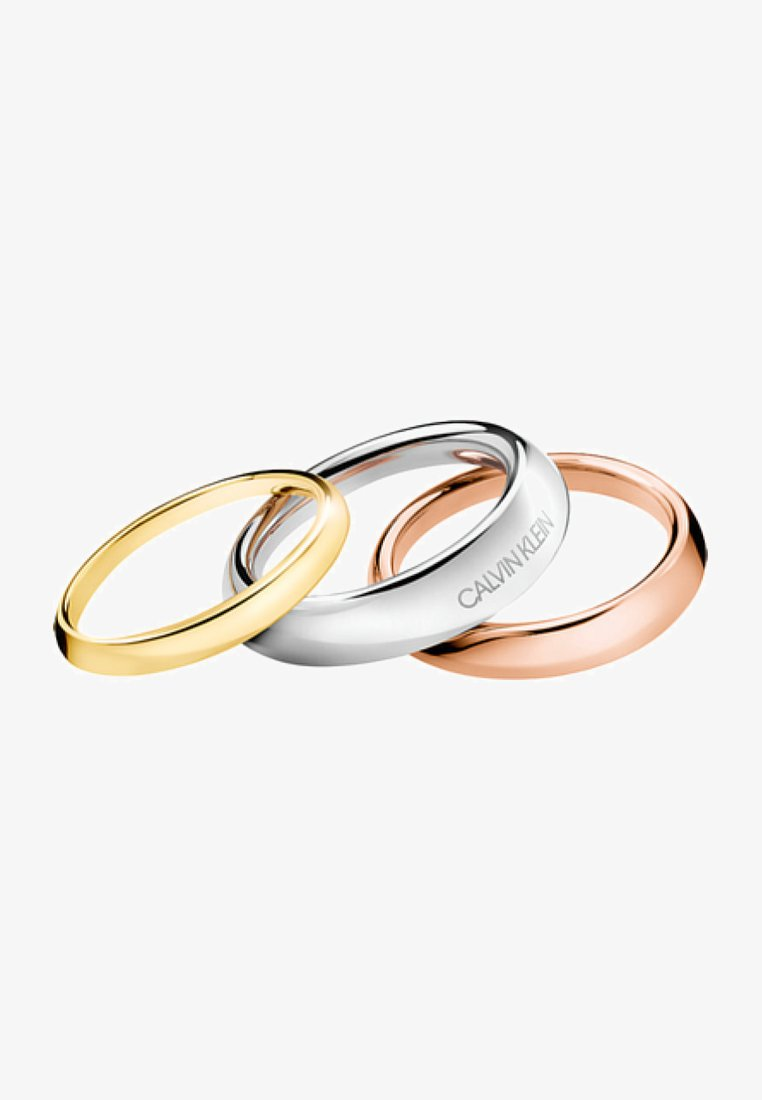 Calvin Klein - 3 PACK - Ring - silver