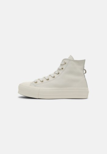 CHUCK TAYLOR ALL STAR LIFT - High-top trainers - egret/light gold