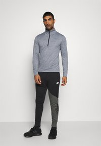 New Balance - FORTITECH QUARTER ZIP - Long sleeved top - lead - 1