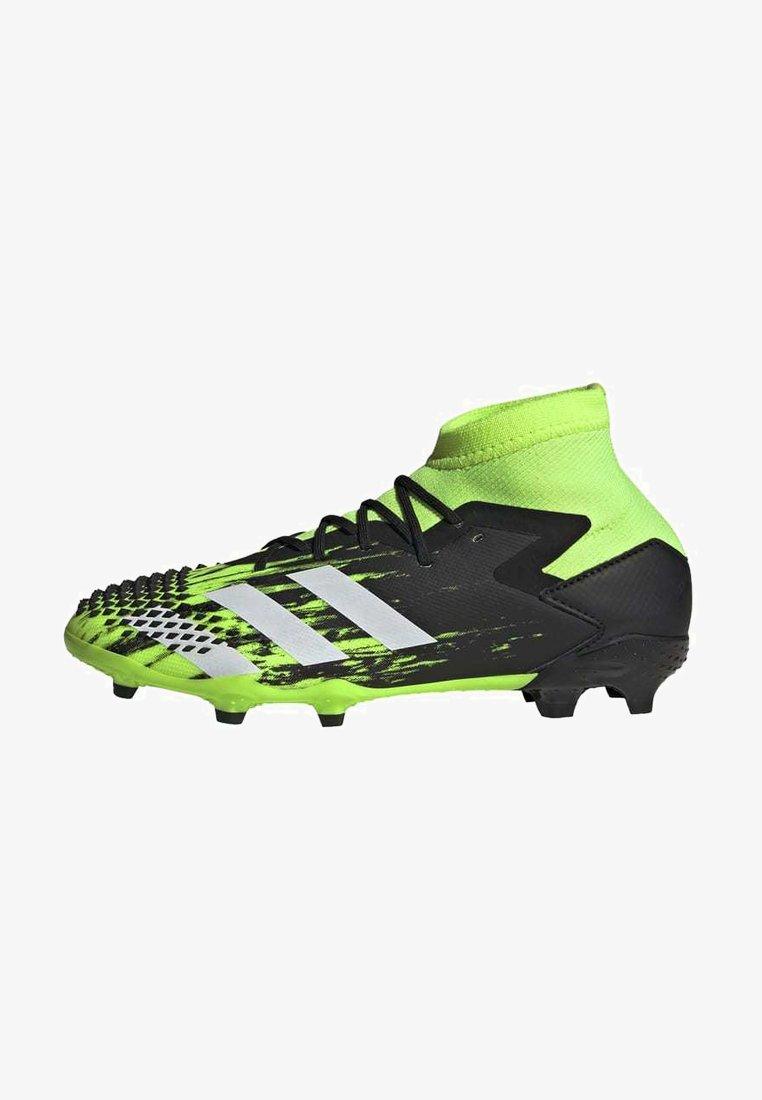 adidas Performance - PREDATOR MUTATOR 20.1 FOOTBALL BOOTS FIRM GROUND UNISEX - Moulded stud football boots - siggnr/ftwwht/cblack
