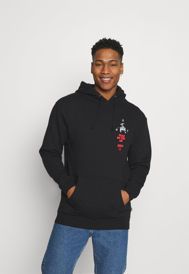 YEAR OF THE OX HOODIE - Sweatshirt - black