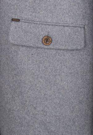 DREIMASTER MANTEL - Classic coat - grau melange