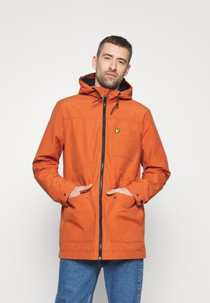 MICRO LINED JACKET - Waterproof jacket - tobacco