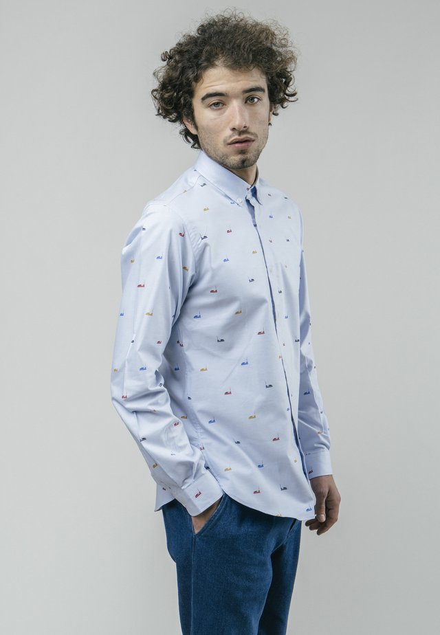 AUTOSCOOTER  - Chemise - blue
