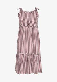 ONLY - Day dress - cloud dancer w stripes - 0