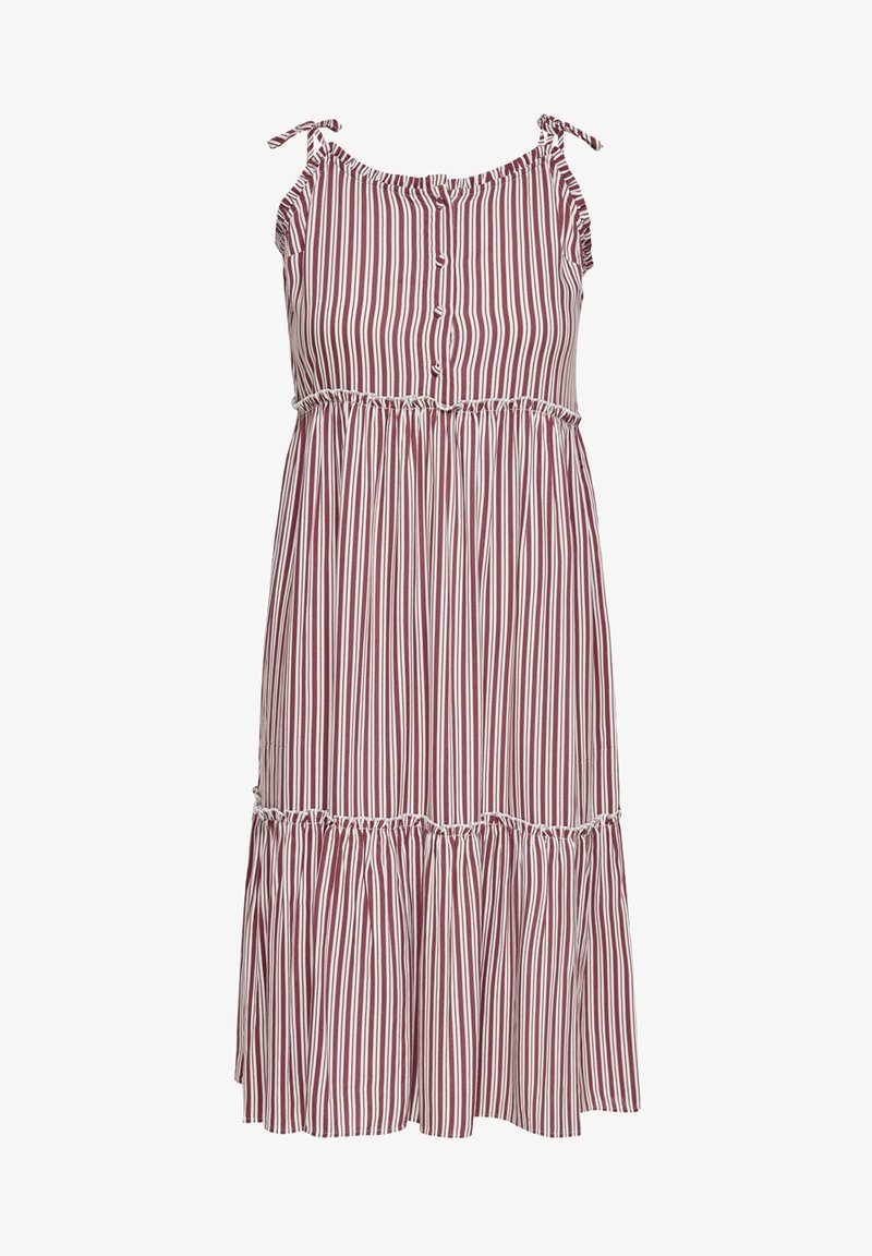 ONLY - Day dress - cloud dancer w stripes