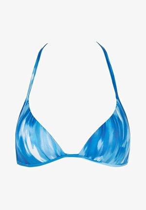 SELENA - Bikini top - blau - 263c - tie dye blu