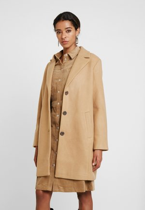 COAT - Short coat - light camel