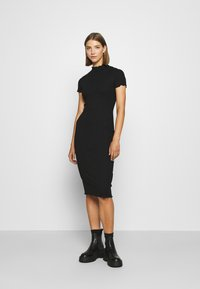 Even&Odd - Vestito di maglina - black - 0