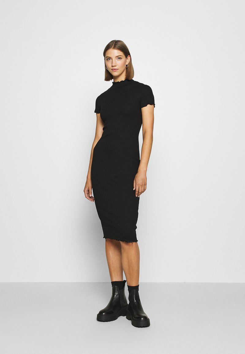 Even&Odd - Vestito di maglina - black