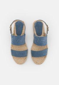 JUTELAUNE - STRIPE  - Sandals - jeans - 5