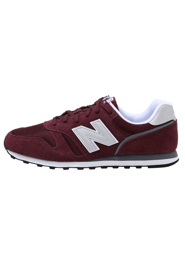 ML373 - Sneakers laag - burgundy/white