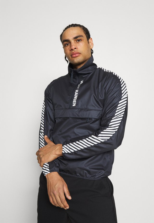 VECTOR PACKABLE ANORAK - Windbreakers - navy