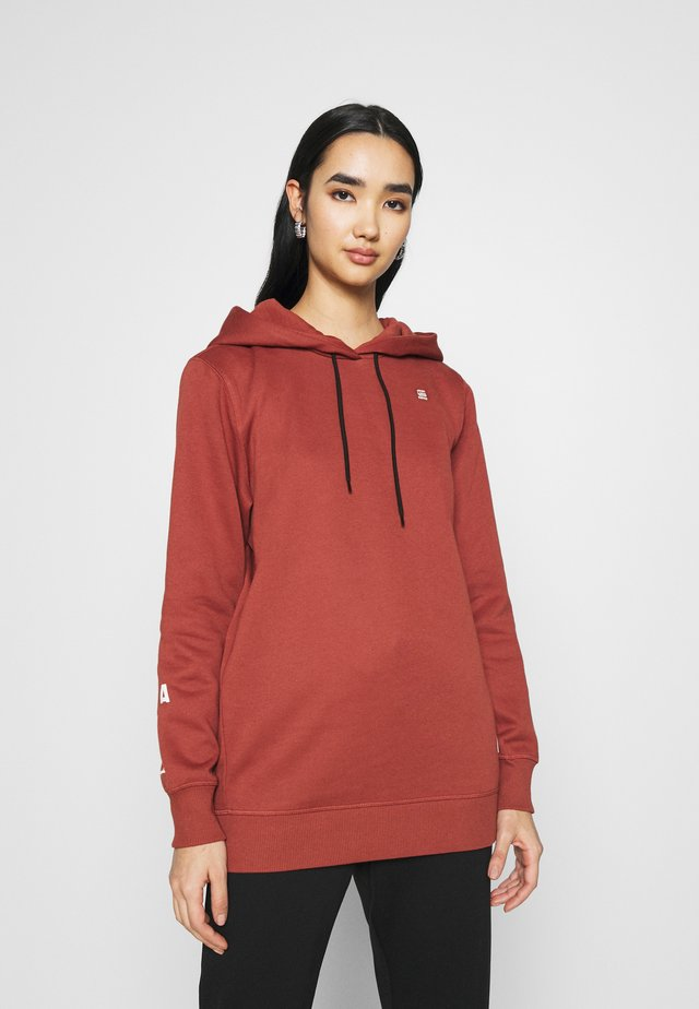 GRAPHIC BF HDD SW WMN L\S - Sudadera - cinnamon red