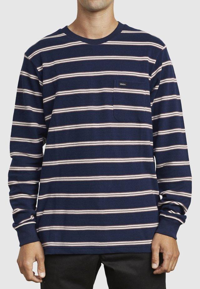 BLOOM PIQUE  - T-shirt à manches longues - blue