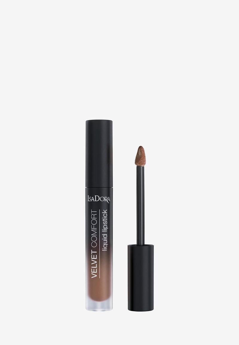 IsaDora - VELVET COMFORT LIQUID LIPSTICK - Liquid lipstick - cool brown