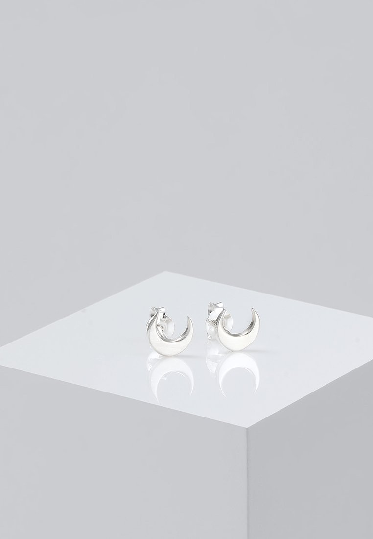 Elli Halbmond Luna - Ohrringe Silver-coloured/silber