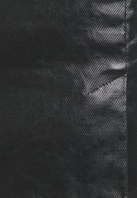 Weekday - JULES COATED SKIRT - Spódnica mini - washed black - 6
