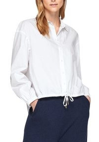 s.Oliver - Button-down blouse - weiß - 2