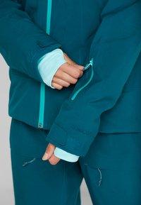PYUA - BLISTER - Snowboard jacket - petrol blue - 7