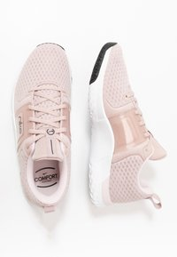 Nike Performance - RENEW IN-SEASON TR 10 - Sports shoes - stone mauve/metallic silver/barely rose - 1
