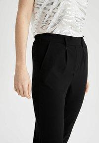 DeFacto - Trousers - black - 3