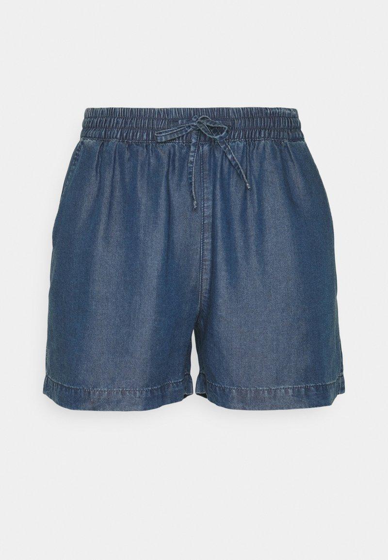 ONLY Tall - ONLPEMA LIFE - Shorts - dark blue denim