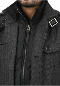 INDICODE JEANS - BRANDAN - Short coat - dark coal - 2