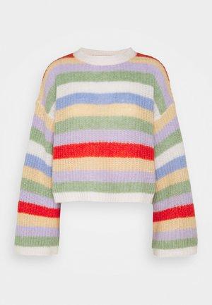 LOUISE JUMPER - Jersey de punto - multi-coloured