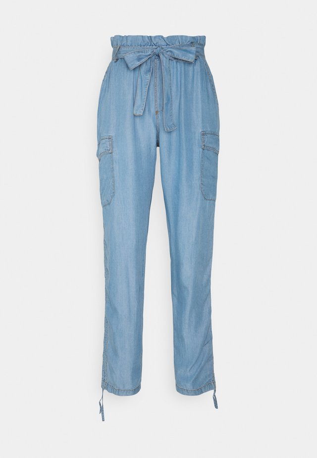 AMIRA PANTS - Trousers - blue denim
