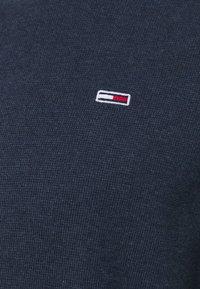 Tommy Jeans - MINI WAFFLE JASPE LONGSLEEVE - Neule - blue - 2