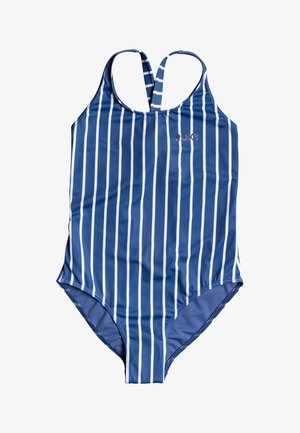 PERFECT SURF TIME  - Swimsuit - moonlight blue kuta stripes