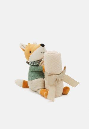 LITTLE RAMBLER FOX SOOTHER UNISEX - Plyšák - cream