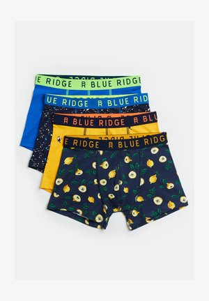 4-PACK - Boxer shorts - dark blue