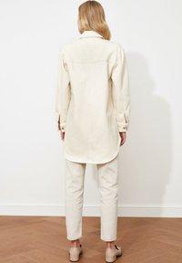 Trendyol - Summer jacket - cream - 5