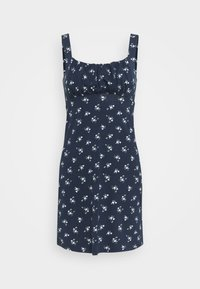 Hollister Co. - BARE DRESS - Jerseykjole - navy