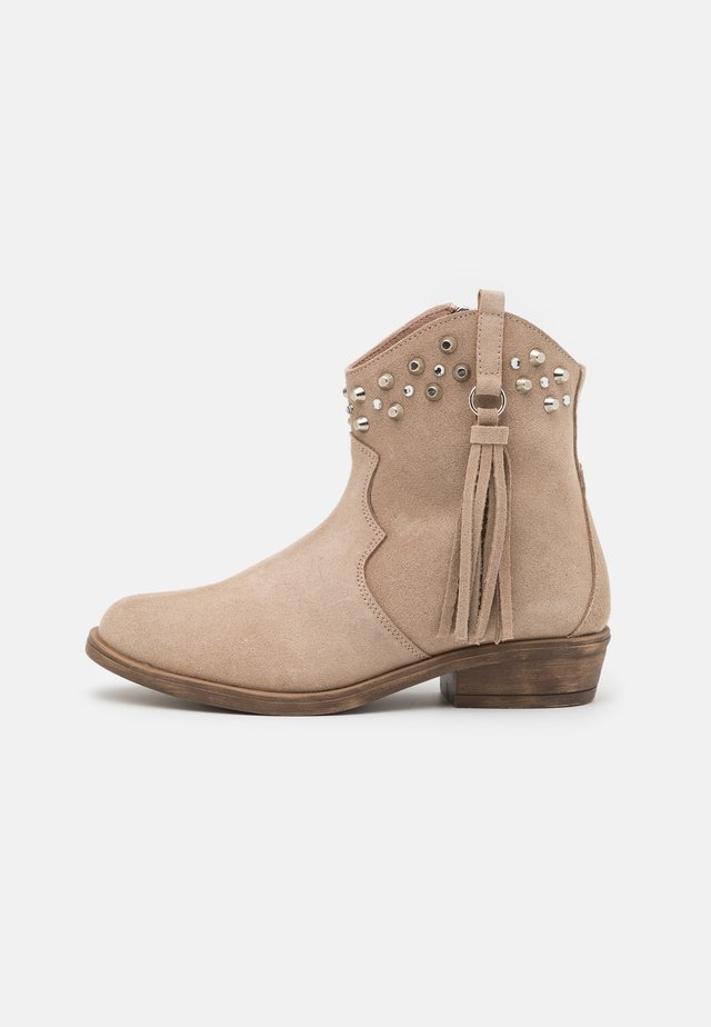 BOOTS - Classic ankle boots - incenso