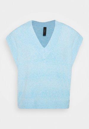 YASLOLA GILET - T-shirt print - della robbia blue