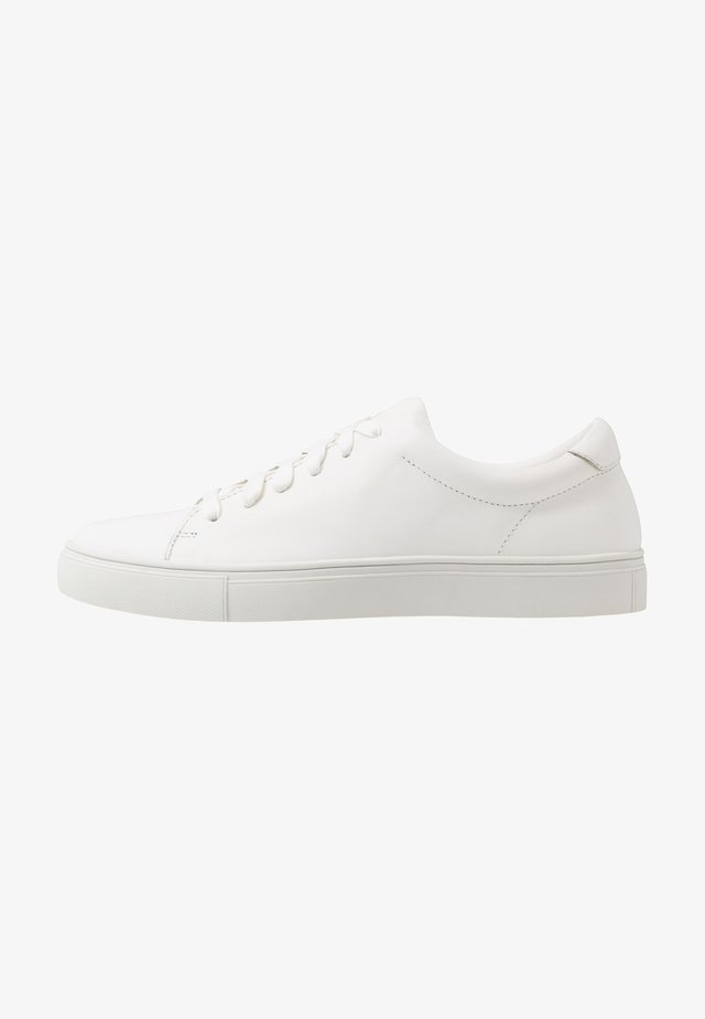 LEATHER UNISEX - Trainers - white