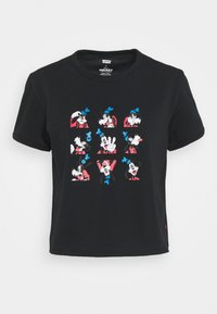 Levi's® - DISNEY MICKEY AND FRIENDS - Print T-shirt - black - 4