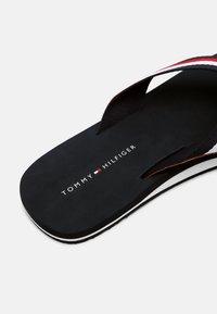 Tommy Hilfiger - CORPORATE - T-bar sandals - desert sky - 6
