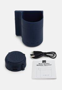 TYPO - BEER HOLDER SHOWER SPEAKER - Speaker - navy - 3