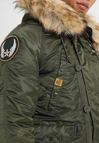 Alpha Industries - AIRBORNE - Winter coat - dark green - 5