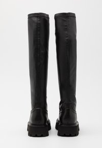 Bronx - GROOVY - Over-the-knee boots - black - 3