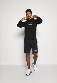 Under Armour - PACK HOODIE - Mikina - black/pitch gray - 1
